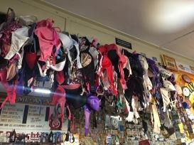 Many bras!
