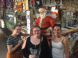 Us with Santa Claus