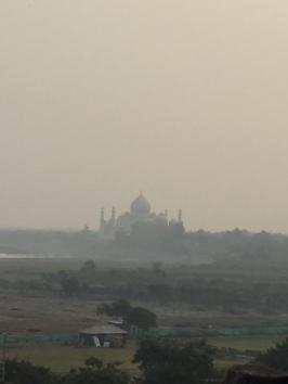The Taj Mahal from a distance!
