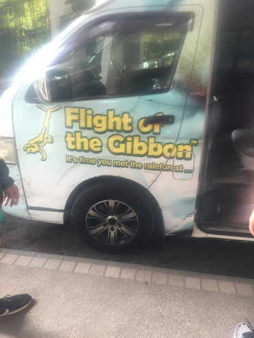 Our transfer to and from the Thai rainforest
