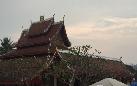 One of Luang Prabang's many Buddhist Temples